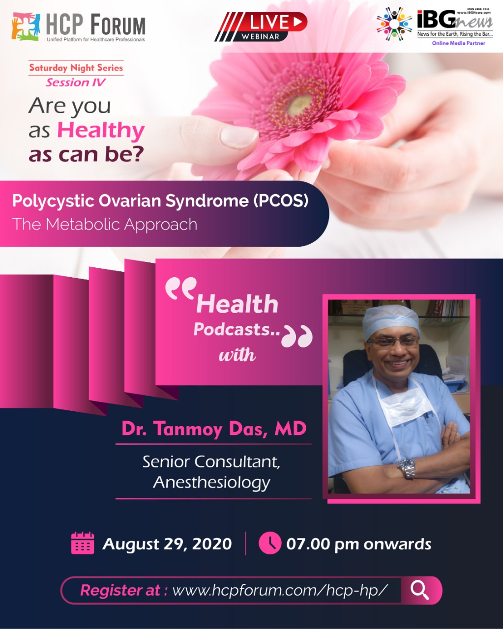 HCPForum - PCOS Talk with Dr. Tanmoy Das