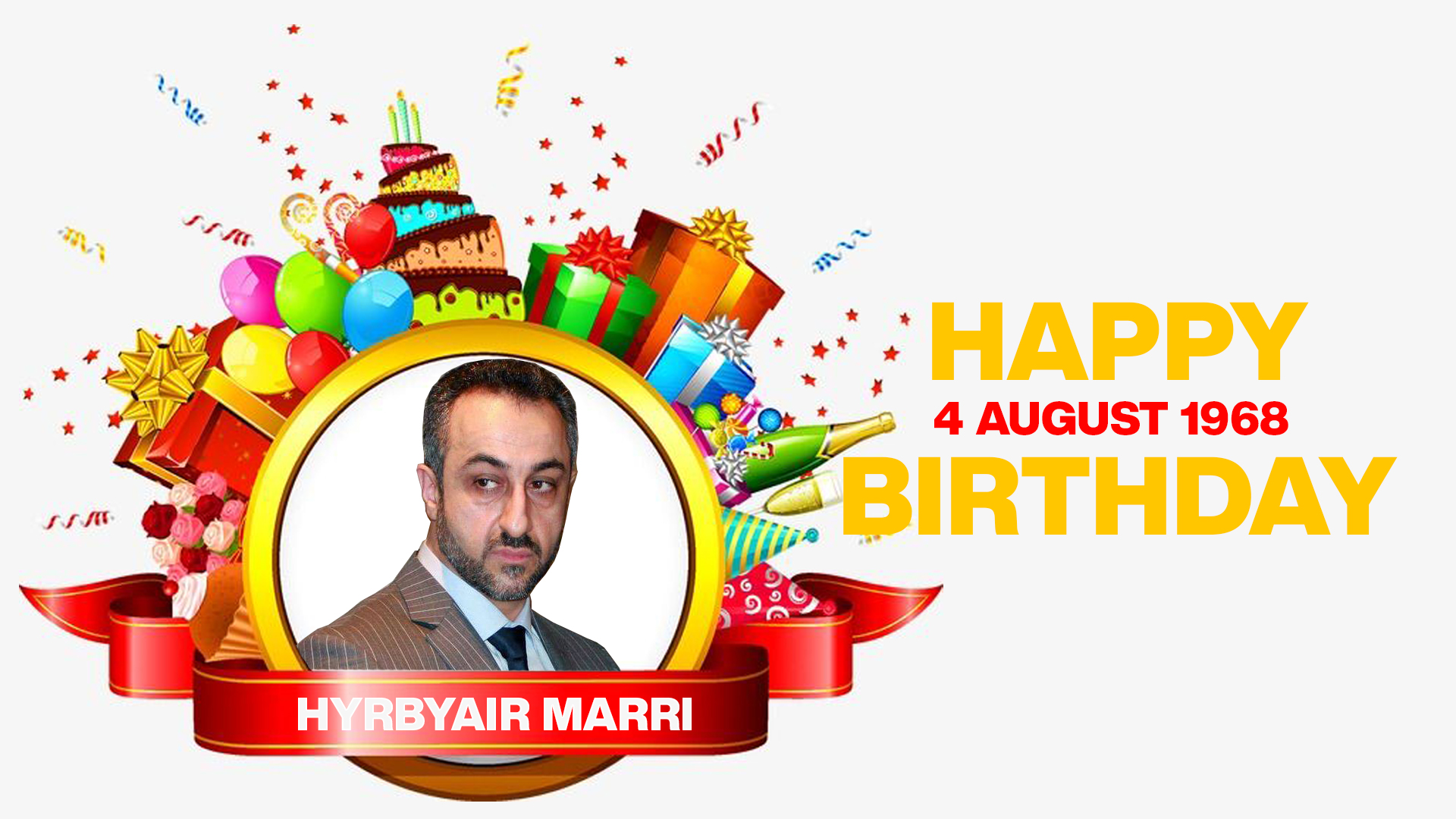 Happy Birthday to Hyrbyair Marri