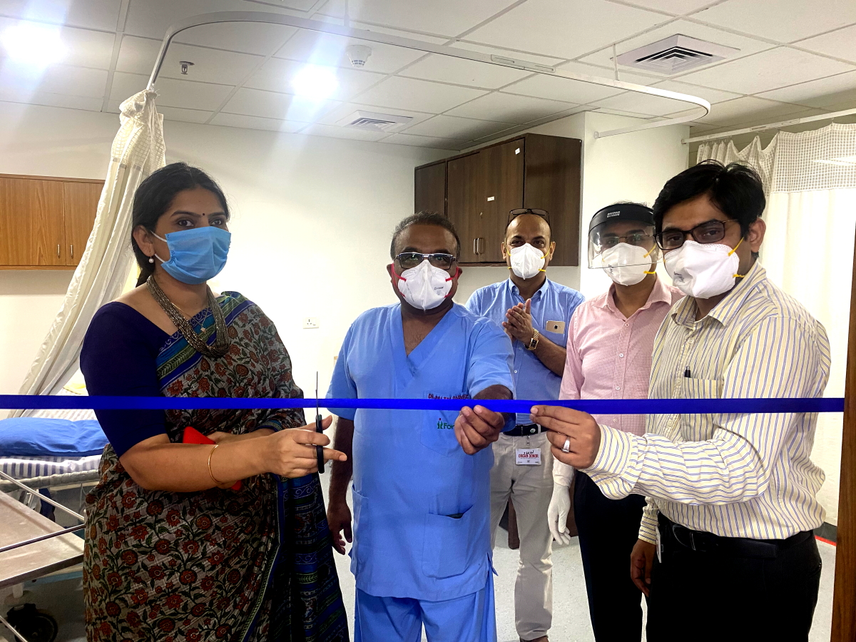 Inauguration Fortis Hospital New CT Scanner