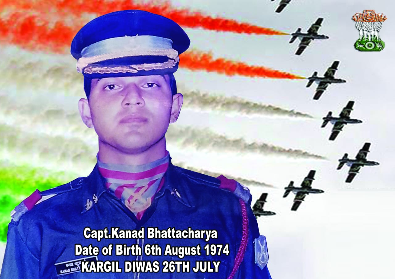 46th Birth Day of Captain Kanad Bhattacharyya, the great Martyr of Kargil War. Commemorating the Birth Day of this War hero, his own club