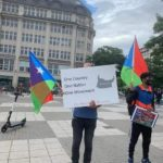People of Balochistan held a demonstration in Hamburg City in Germany against Baloch Genocide by Pakistan - Photo 4