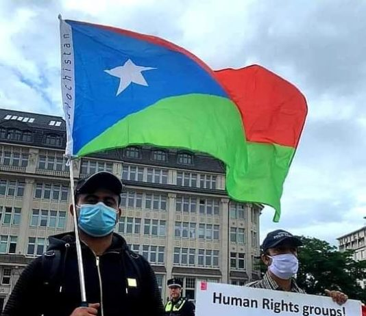 People of Balochistan held a demonstration in Hamburg City in Germany against Baloch Genocide by Pakistan - Photo 5