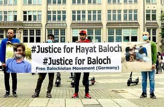 People of Balochistan held a demonstration in Hamburg City in Germany against Baloch Genocide by Pakistan - Photo 6