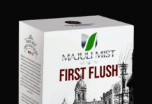 Tea-Box (Majuli Mist, First Flush, Roasted Tea) 100g