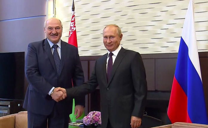 Vladimir Putin met with President of the Republic of Belarus Alexander Lukashenko