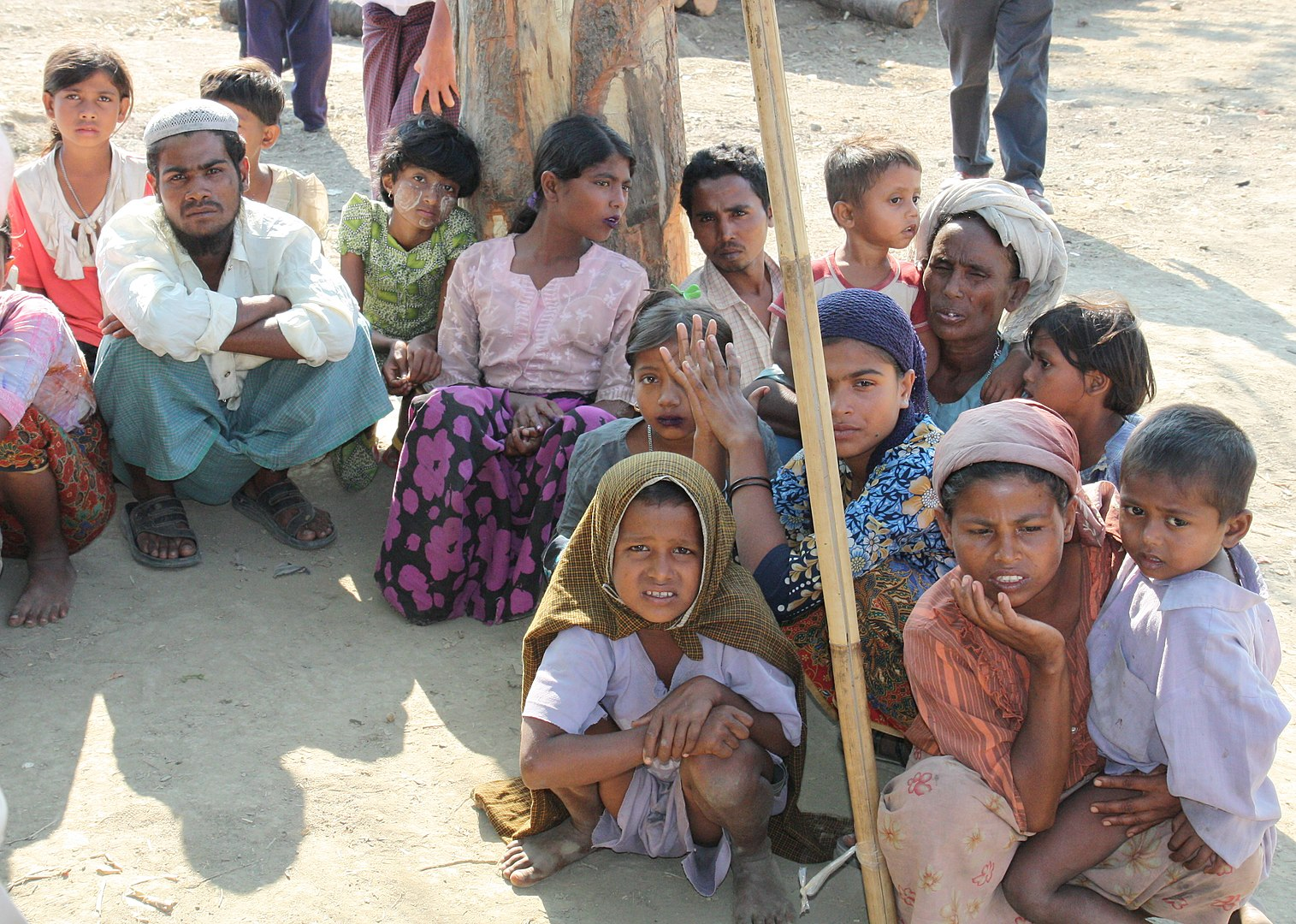 Rohingya refugees - Photo Wikipedia