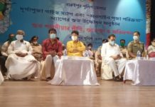 Baruipur Police District, Biswa Bangla, Govt. of West Bengal & International Justice Mission, Kolkata, Begin Puja Celebrations Spreading Human Trafficking Awareness Among District Citizens