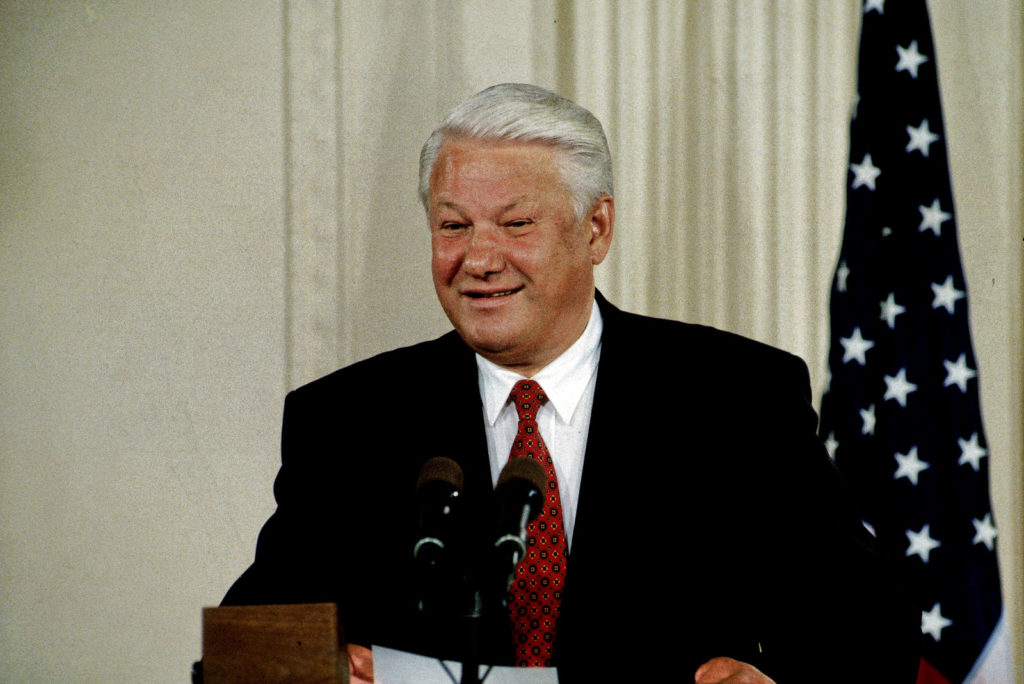Boris-Yeltsin First Russian President