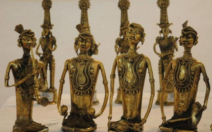 Dokra Metal art work - Tribal Art of India