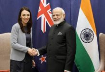 Indian and New Zealand PM