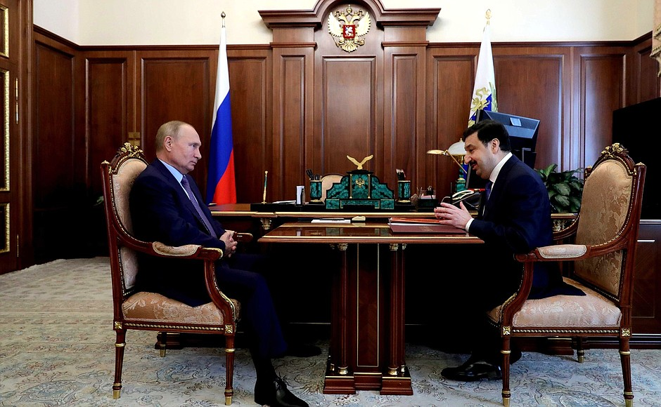 Meeting with Rector of the Russian Presidential Academy of National Economy and Public Administration Vladimir Mau