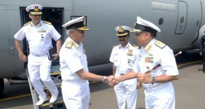 CNS REVIEWS OPERATIONAL READINESS AT SEA