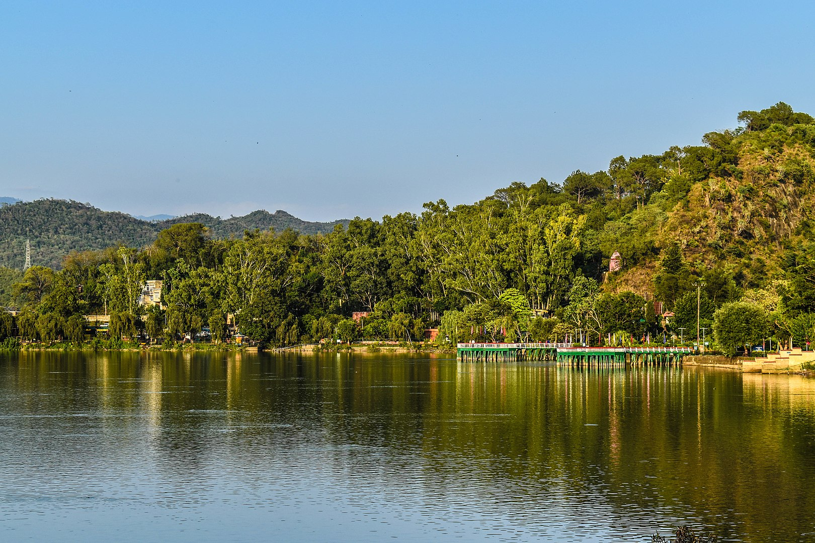 Mansar Lake Development Plan in Jammu