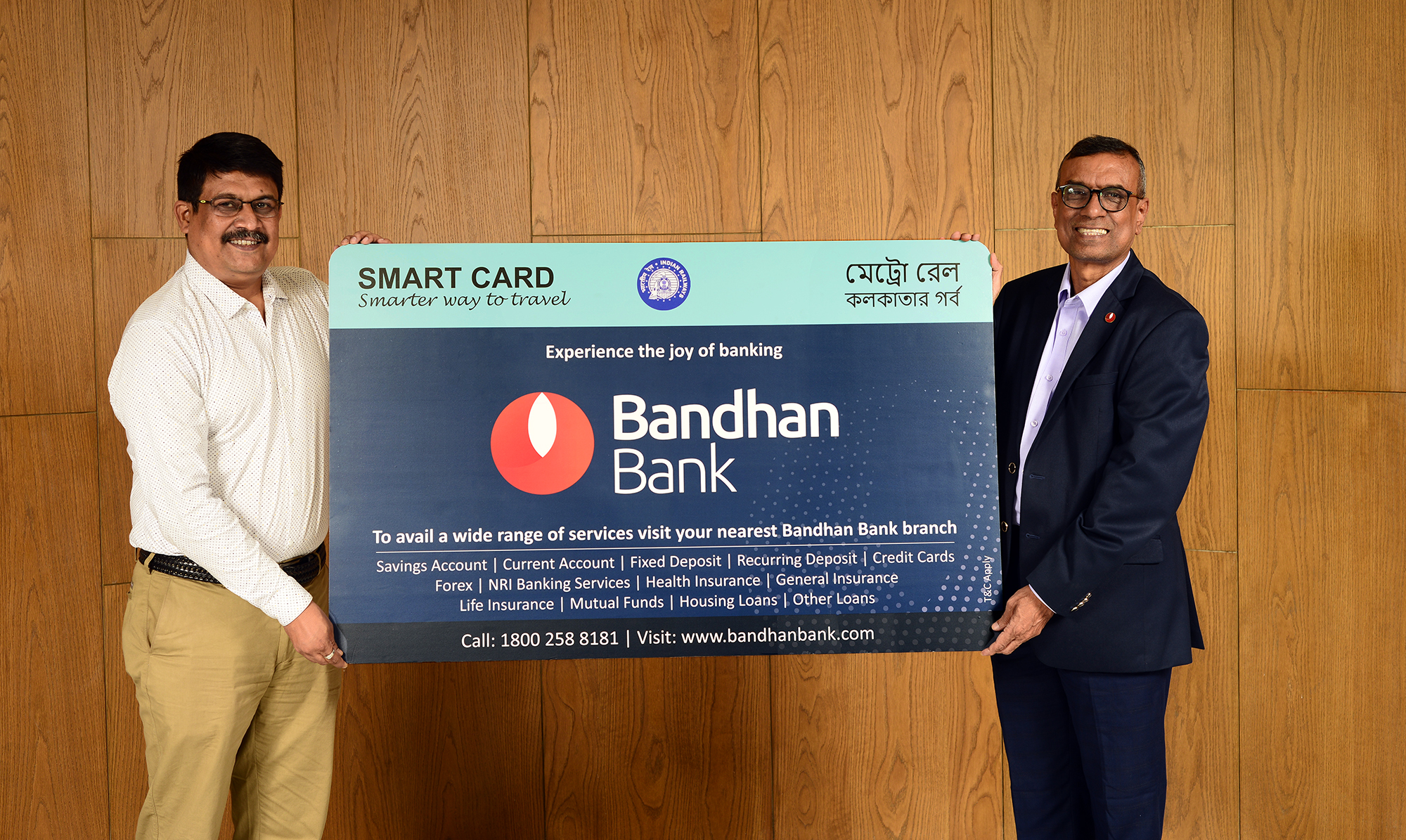 Bandhan Bank joins hands with Kolkata Metro