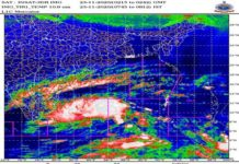 Depression over southwest and adjoining southeast Bay of Bengal—cyclone alert for Tamilnadu and Puducherry coasts