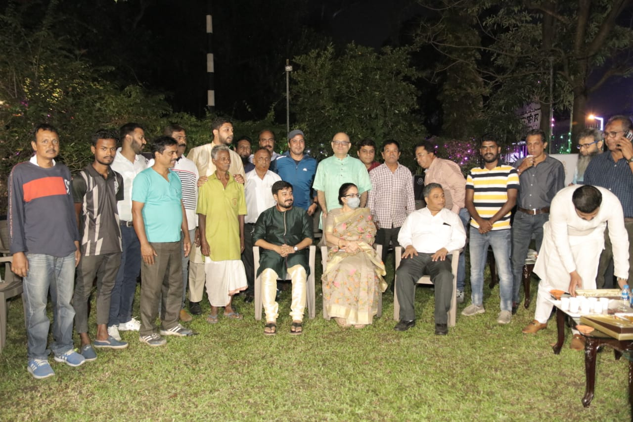 Mohammaden Sporting Club patronized the celebration of Diwali