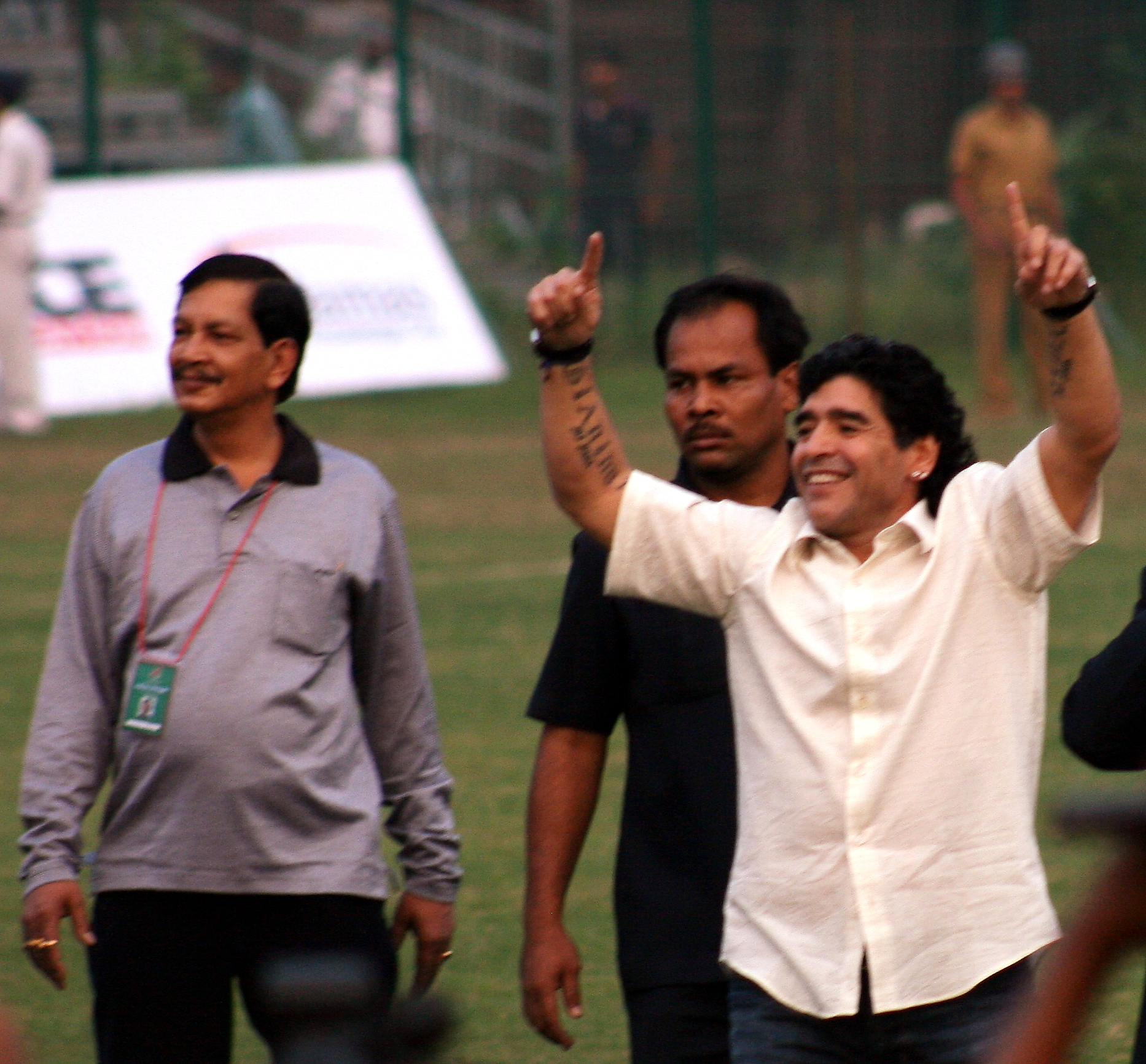 Maradona at Kolkata