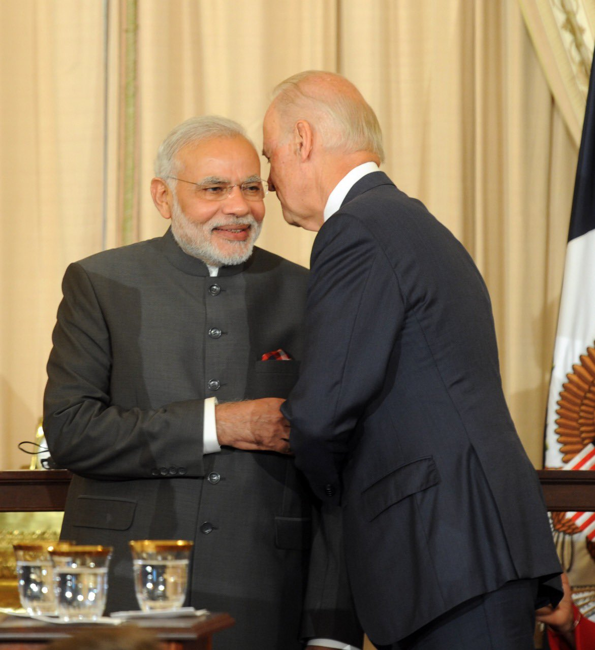 Modi and Joe Baiden