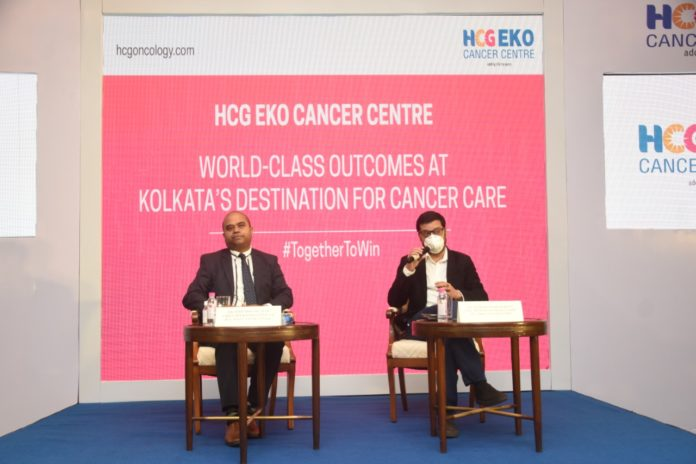 HCG EKO Cancer Centre gives new lease of life to a young woman suffering from Acute Myeloid Leukemia through Bone Marrow Transplant procedure