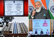 The Prime Minister, Shri Narendra Modi addressing at the inauguration of the Multi-storeyed flats for the Members of Parliament, through video conferencing, in New Delhi on November 23, 2020.
