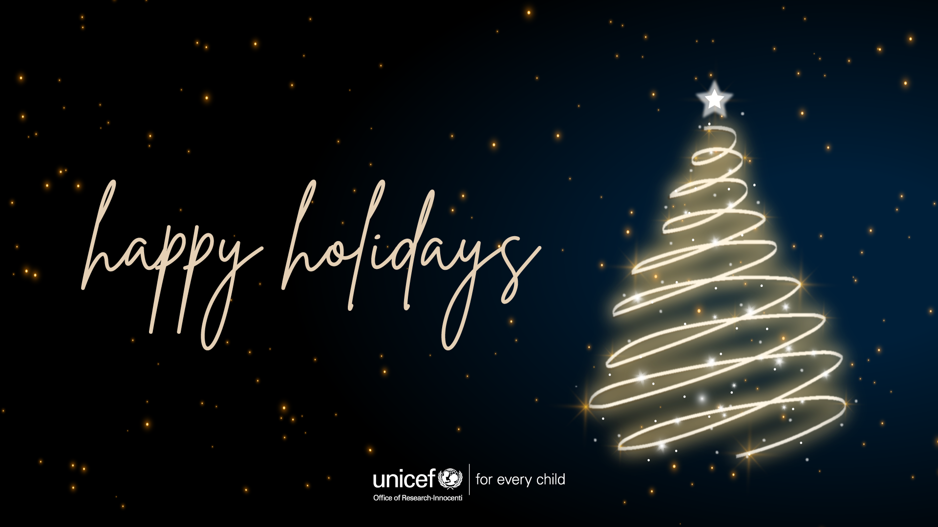 Happy Holidays from UNICEF