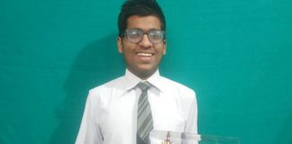 TCS IT Wiz National Finals Winner - Abhishek Agarwal, G D Goenka Public School, Siliguri