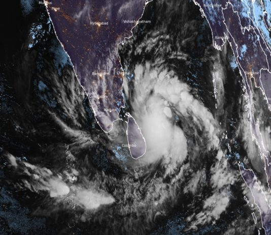 Tropical Cyclone Burevi