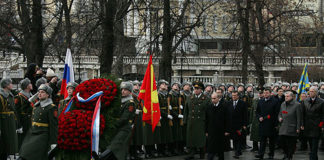 Vladimir Putin on Heroes of Fatherland Day in Russia