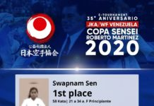 35 ANIVERSARIO JKAWF VENEZUELA INTERNATIONAL KARATE E-TOURNAMENT 2020