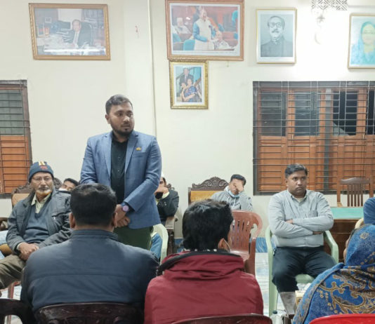 Tufan exchanged views on Nalta ahead of the UP elections