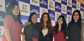 A moment from the Boss Network's launch