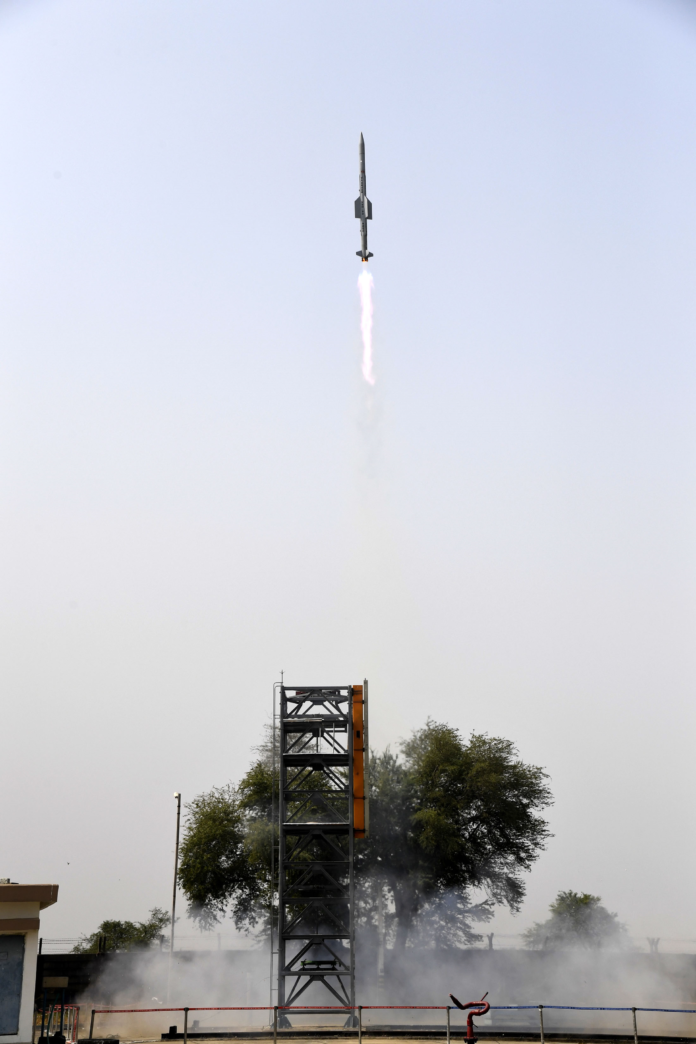 The Defence Research & Development Organisation (DRDO) conducted two successful launches of Vertical Launch Short Range Surface to Air Missile (VL-SRSAM) from Integrated Test Range (ITR), Chandipur off the coast of Odisha on February 22, 2021.