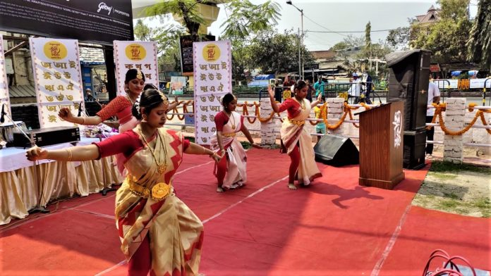 International Mother language day celebration by SB Park Puja Committee