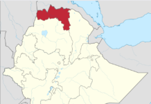 Tigray Region in Ethiopia