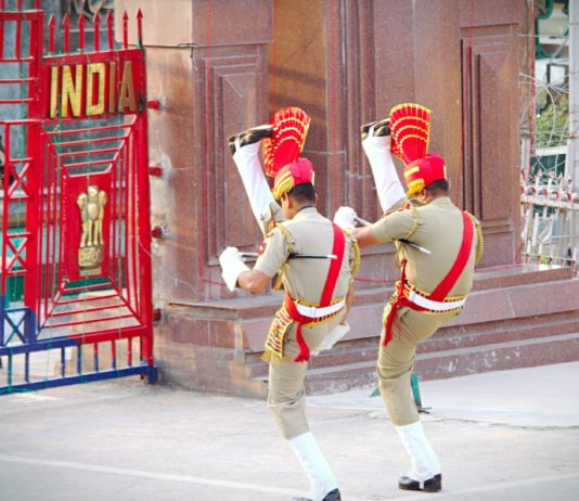 Wagha Marching India Pakistan Border Photo Wikipedia