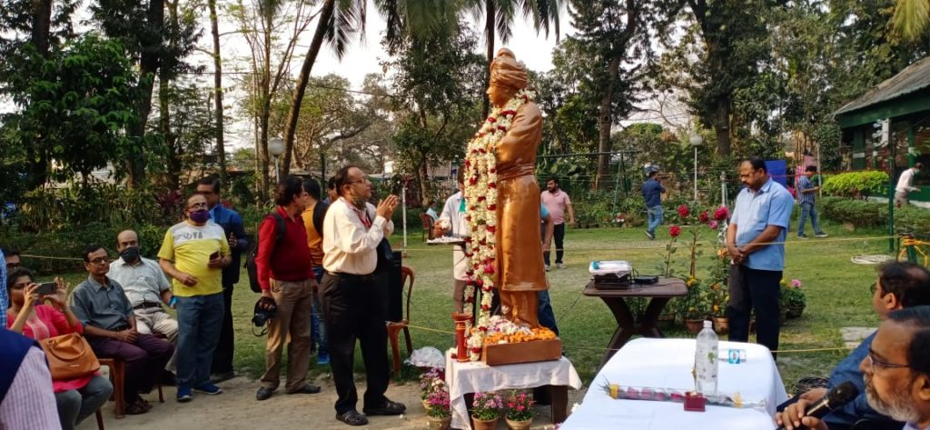 Tribute to Vivekananda by Suman Munshi Chief Editor IBG NEWS and General Secretary All Indian Reporter Association West Bengal