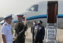 Chief of Indian Air Force in Dhaka on a 3-day visit