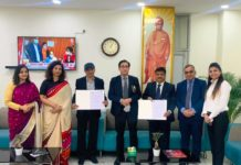 IIHMR University signs an MoU with Shri Vishwakarma Skill University (SVSU)