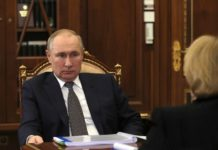 Veronika Skvortsova with Presicent Putin