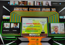 NMSHE's ICAR Team awarded for agricultural information dissemination in Leh