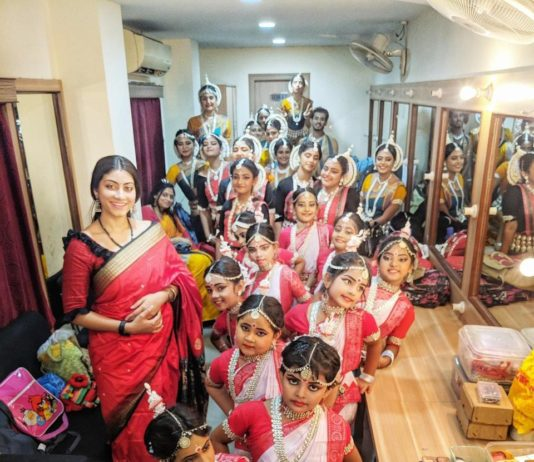 Dancer Sulagna Ray Bhattacharjee released a of home made music video on Rabindra Jayanti
