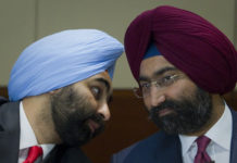 "Malvinder and Shivinder Mohan Singh -""brother, looks like we're in trouble""."