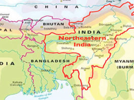 North East India and Myanmar