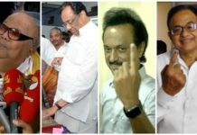 Tamilnadu Celebrity Votes