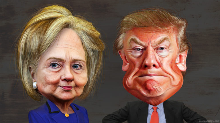 """Clinton strikes back at Trumps – He is not """"Qualified"""" to be President"""