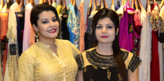 Designers Anindita and Soni At AWA Launch.