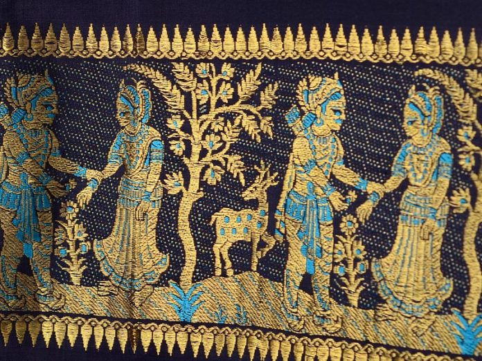 Baluchori Saree - Bengal Art in Textile