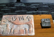 Indus Civilisation Seal Unicorn - Indian Museum,Kolkata
