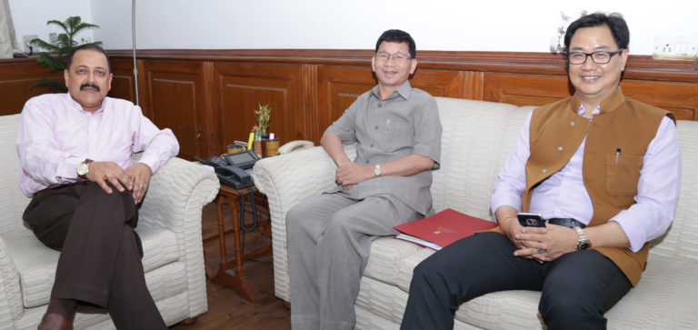 Chief Minister Shri Kalikho Pul Started acting on war footing – What he promised CII at Kolkata