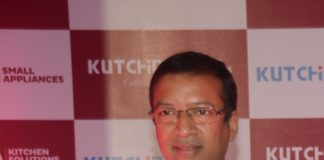 Namit Bajoria at the launch of small appliances.